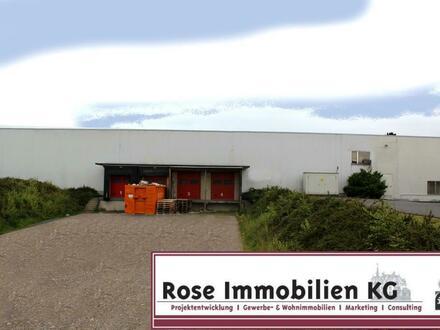ROSE IMMOBILIEN KG: Kaltlager mit 4 Rampen nahe der BAB 2!