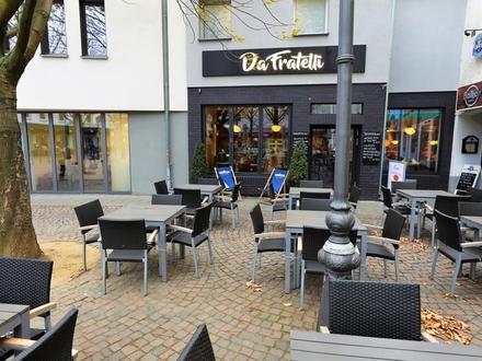 TOP Restaurant in der Darmstädter Innenstadt mit großem Außenbereich