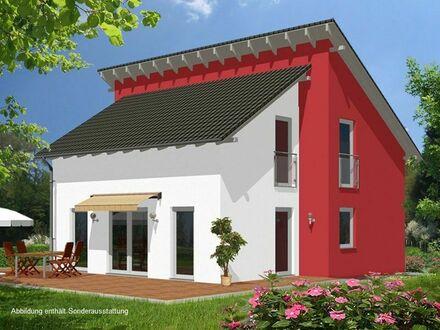 Einfamilienhaus mit Pultdach inmitten der Natur in Frohburg