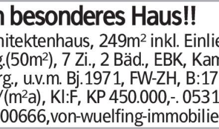 Haus in Wolfsburg (38440) 249m²