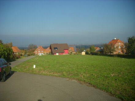 Ein Baugrundstück in toller Hanglage der Bückeberge