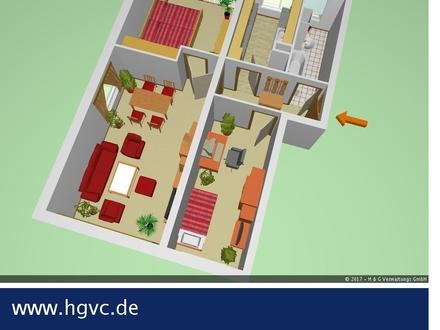 3 Zi. WE,Tageslichtbad, separate Küche, Balkon