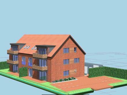 Dachgeschoss - Eigentumswohnungen in zentraler Lage von Marienhafe