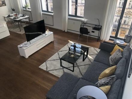 Über den Dächern -2-Zi-Penthouse Wohnung möbliert