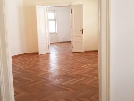 PROVISIONSFREI!! sehr helle 4 Zimmer Altbauwohnung, Hippgasse, 127 m² + Lichthofbalkon, Brunnenmarkt und Yppenplatznähe!