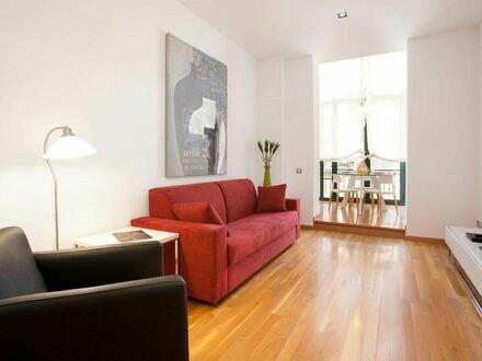 Komplett sanierte Wohnung mit Balkon & Garten-Mitnutzung