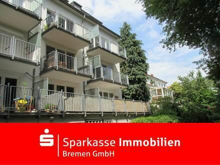 Vermietete Hochparterre-Wohnung mit ca. 15 m² Balkon und Tiefgaragenstellplatz