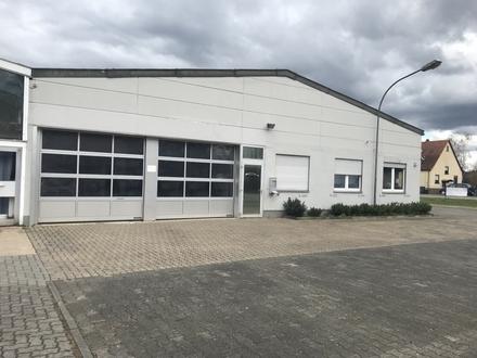 Büro mit Produktionshalle an sehr gut frequentierter Straße plus Freifläche möglich