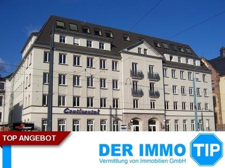Kleines Innenstadtbüro am Bahnhof in Chemniz in UNI - Nähe
