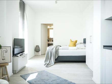 NEUBAU BOARDING HOUSES 1 Zimmer im EG -voll ausgestattet - PRIME PARK **Tagespreis Euro 79,- €**