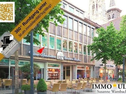 Büroetage im 1. OG in der Ulmer Innenstadt zu vermieten