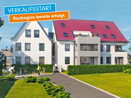 Neubau - Lebe deinen Traum! Moderne 2-Zimmer-Wohnung mit Terrasse, Tiefgarage, Fußbodenheizung