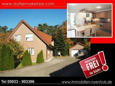 Idyllisch gelegenes Einfamilienhaus in Waldnähe**barrierefreies Erdgeschoss** ausgebaute Doppelgarage