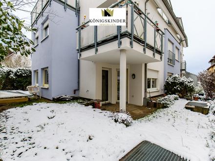 Gemütliche 2-Zimmer-Souterrainwohnung mit Terrasse in schöner Lage von Leonberg
