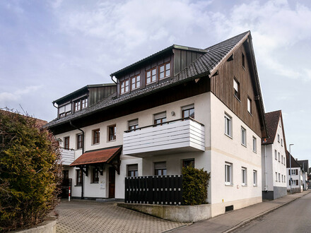 Zentrumsnahe 3-Zimmer-Wohnung in Leutkirch im Allgäu!