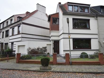 Bremen-Gröpelingen: Zweifamilienhaus mit Garage in ruhiger Lage! Obj. 4937