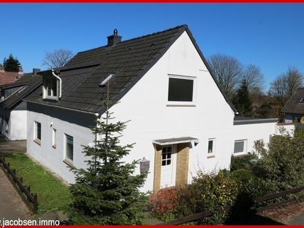 Modernisiertes Einfamilienhaus inklusive Einliegerwohnung im Norden Schleswigs