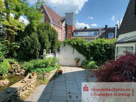 Stadthaus mit zwei Wohnungen im Zentrum von Emsdetten !