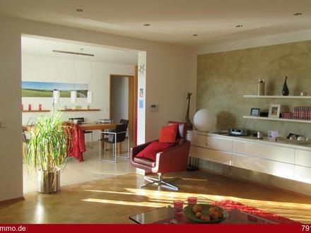 Modernes Einfamilienhaus mit Panoramablick