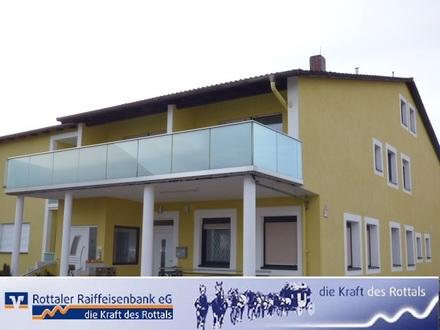 Großzügige 3-Zimmer-Wohnung mit tollen Balkonen im schönen Egglfing