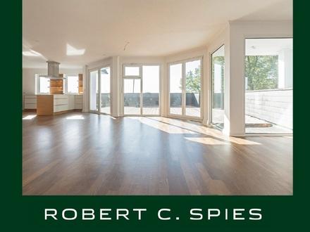 Wohnen über den Dächern Bremens: Individuelle Penthouse-Wohnung im Altbremer Haus