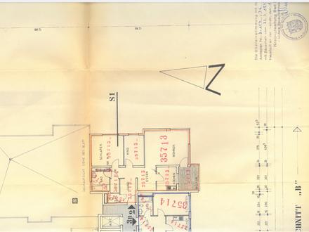 Gepflegte 3,5 Zimmer Wohnung mit Südbalkon in Zentrumsnähe