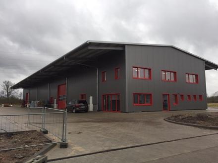 Gewerbe-Neubau in Kaltenkirchen, Teilflächen zu vermieten!