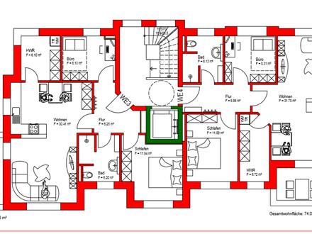 Ab Ende 2019: Etagenwohnung mit Balkon in Eversten! Individuelle Wünsche sind möglich!