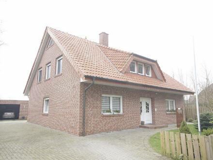 Große Obergeschosswohnung in Haselünne-Lahre zu vermieten.