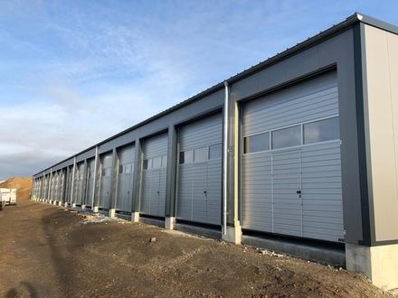 Lagerfläche, Garage, Halle mit Rolltor zu vermieten (Variante Übergroß)