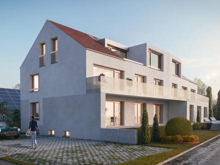 Chice 4-Zimmer-Eigentumswohnung mit effektiv 24 m² großem Südbalkon