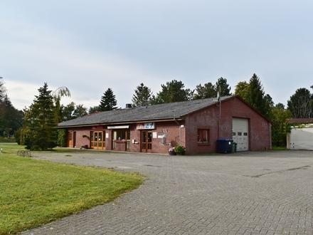 Hude-Wüsting: Wohnen und Arbeiten auf einem ca. 4000m² großen Grundstück Obj. 5375