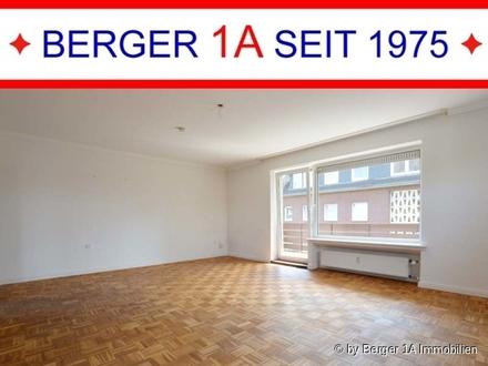 WEYHE - große 3 ZIMMER-WHG mit BALKON u. EINZELGARAGE, Einbauküche, Wannenbad mit Fenster