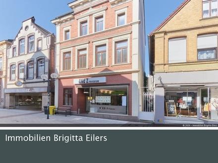 Traditionelles Wohn- & Geschäftshaus mit Denkmalschutz in der Fußgängerzone Verdens