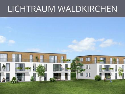 LICHTRAUM WALDKIRCHEN: Lichtdurchflutete, großzügige 3-Zimmer-Wohnung mit Balkon
