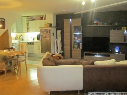 Sehr schöne 2-Zimmer-Maisonette-Wohnung in Weiden