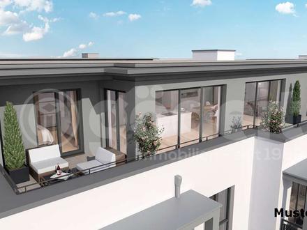 Geschmackvolle 3 Zimmer Wohnung mit Dachterrasse!