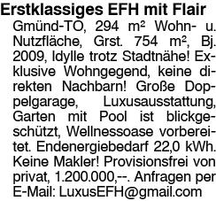 Erstklassiges EFH mit Flair