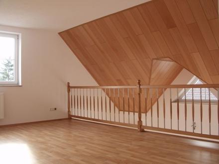 4,5 ZKB ca. 180 m² sofort Galerie-Dachge.-Whg., 2 Blk. m. Blick i. Grüne,...