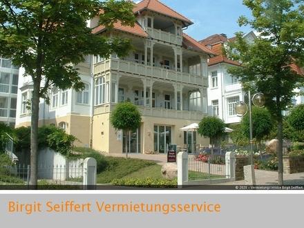 Ruhesitz mit Komfort in Innenstadtlage: 2-Zimmer-Wohnung mit großem Balkon und Wintergarten