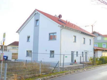 DHH mit Einzelgarage + Kfz-Stellplatz -neu, modern und ein Familientraum-