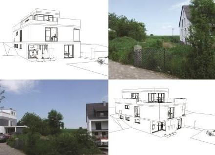 Vielseitig gewerblich nutzbares Baugrundstück mit teilweiser Wohnbebauung.