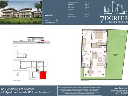 2-Zimmer Eigentumswohnung am Attersee - provisionsfrei kaufen