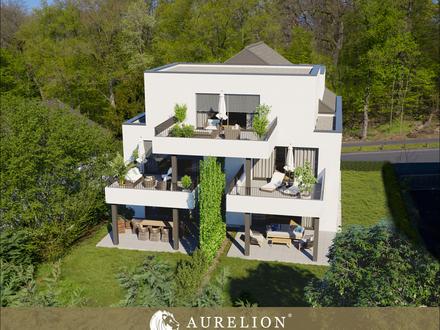 NEUBAU PROJEKT WOHNEN AM GODELSBERG 4 Zimmer Penthouse Wohnung + Dachterrasse & Balkone