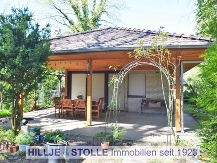 Charmantes Einfamilienhaus mit Garage in ehemaliger Feriensiedlung in ruhiger Lage!