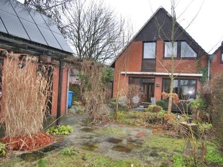 Wunschhaus mit Flair… schmucke DHH mit Vollkeller , idyll Garten 0.gr. Garagenhaus…. begehrte Wohnlage