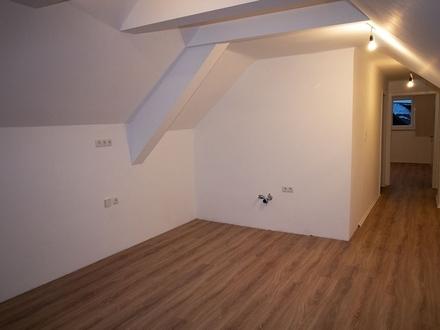 Neu renovierte Dachgeschoss-Wohnung vor den Toren Salzburgs