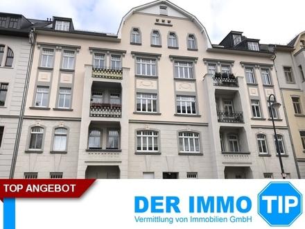 Der Kaßberg ruft!! Tolle 3 Zimmerwohnung mit Balkon und Gartennutzung