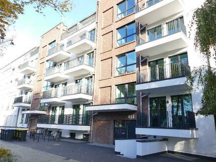 Neubau: Moderne Drei-Zimmer-Wohnung mit zwei Balkonen in der Östlichen Vorstadt