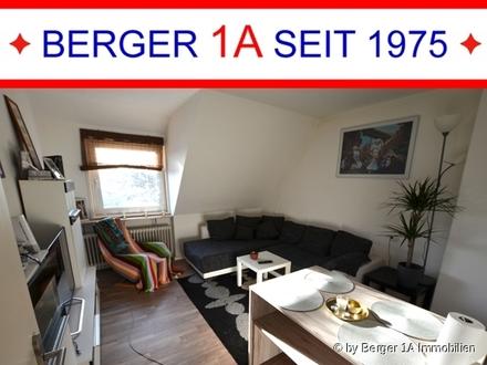 Moderne 3 Zi.-Whg im DG, neuwertige EBK, Wannenbad, Gartenmitbenutzung,in absolut zentraler Wohnlage